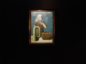 "Klucz do zrozumienia / Key painting to understand him, (R. Magritte, ""Central story"", 1927; painting that opens the permanent exhibition in his museum in Brussels)"
