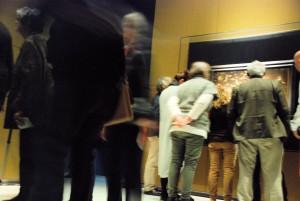 Bschfever - sceny z wystawy / Scenes from the exhibition (zdjecie zwiedzających na wystawie w Noordbrabants Museum)
