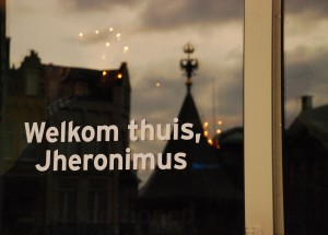 Powitanie /Greeting (s-Hertogenbosch wita Boscha/s-Hertogenbosch welcomes H.Bosch)