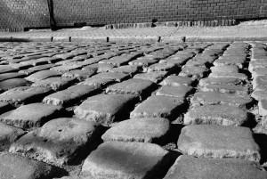 Kamienie (wersja karno-biała, Bytom, stare miasto)