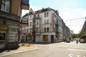 Narożny sklep Martina Hirscha (kiedyś Kattowitzer Strasse 24)