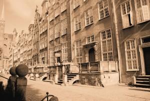 Gdańsk, Ulica Mariacka (fot.2009)