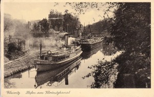 Max Steckel, Gliwicki port (po1936) / MaxSteckel, Hafen am Klodnitzkanal (nach 1936)