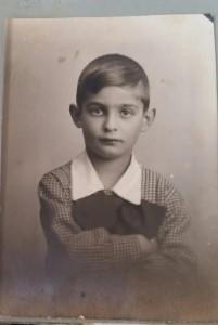 Samuel Hirsch. Bytom ok. 1930 roku (wszelkie prawa zastrzeż. repr. L. Jodliński; zarchiwum rodziny Hirsch)