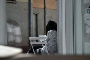 Brumes (1) Oczekiwanie (Annecy; Francja)