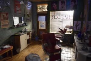 Ojciec chrzestny? Gabinet fryzjerski (Muzeum Miniatur...)