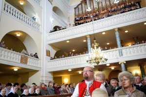Nabożeństwo rocznicowe (fot.L. Jodliński, wszelkie prawa zastrzeż.)