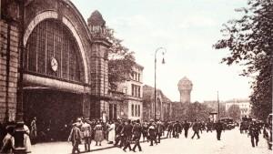 Katowice. Dworzec kolejowy (repr. za A. Siermontowski-przed-1934 r.)