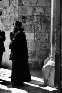 Spotkanie wdrzwiach (Bazylika Grobu Bożego, Jerozolima)