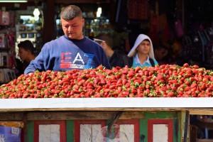Starwberries / Truskawki (Close toDamascus Gate / Pobliże Bramy Damaszku ( Jeruzalem)