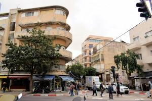 Stary Biały Tel Awiw (Plac Króla Dawida)
