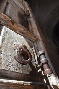 Drzwi dobazyliki (Bazylika Grobu Bożego, Jerozolima)