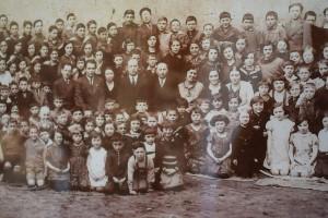Szkolne zdjęcie zLipawy, ok. 1933